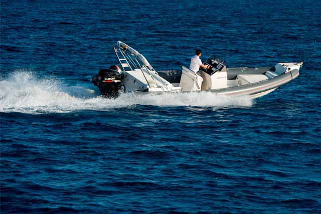 Discover Saronic Gulf surroundings on this Custom Scorpion boat