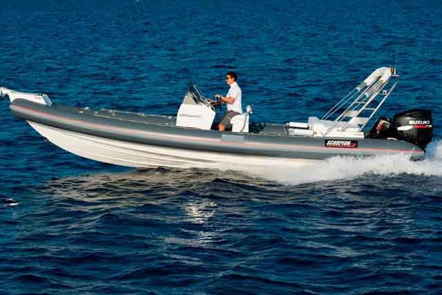 Boat for rent Scorpion 28.21 feet in Athens - Marina Alimos (Kalamaki), Greece