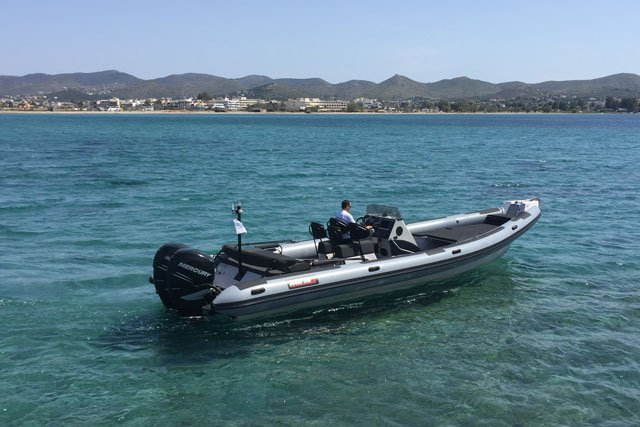 Rigid inflatable boat rental in Athens - Marina Alimos (Kalamaki), Greece