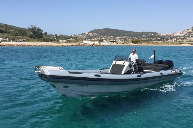 Scorpion x's 32.8 feet in Saronic Gulf