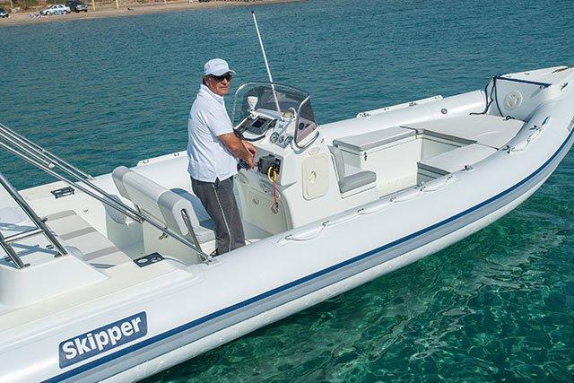 Boat for rent Skipper 25.59 feet in Athens - Marina Alimos (Kalamaki), Greece