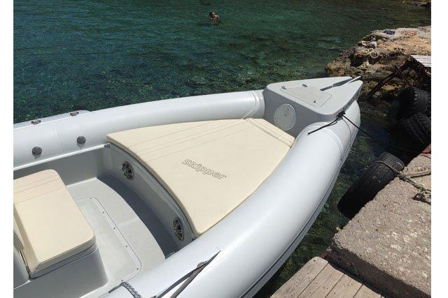 This 27.88' Skipper cand take up to 10 passengers around Saronic Gulf