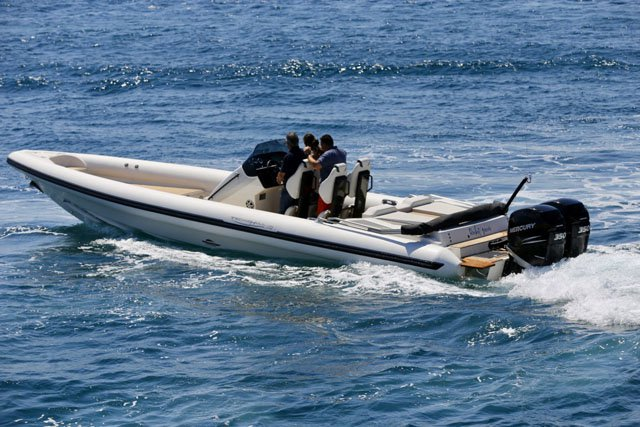 Rent a 36' Rigid Inflatable Boat in Athens, Greece