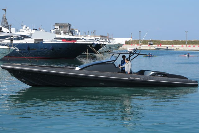 Technohull Omega 41 - 2XD6 Volvo 370HP based at Mykonos  - only with skipper
