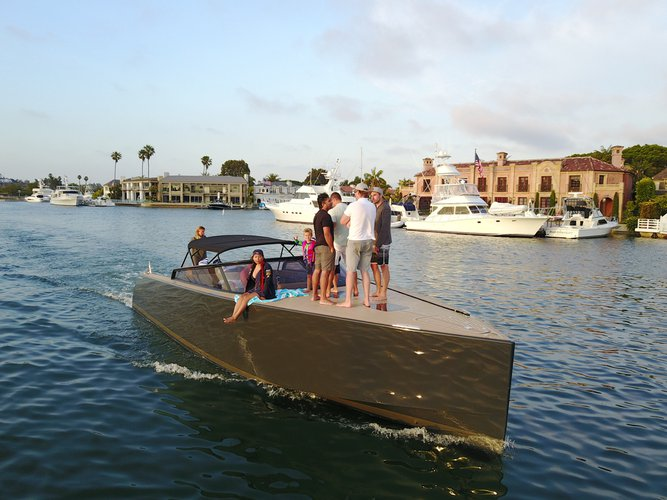 Motor yacht boat rental in Newport Beach,