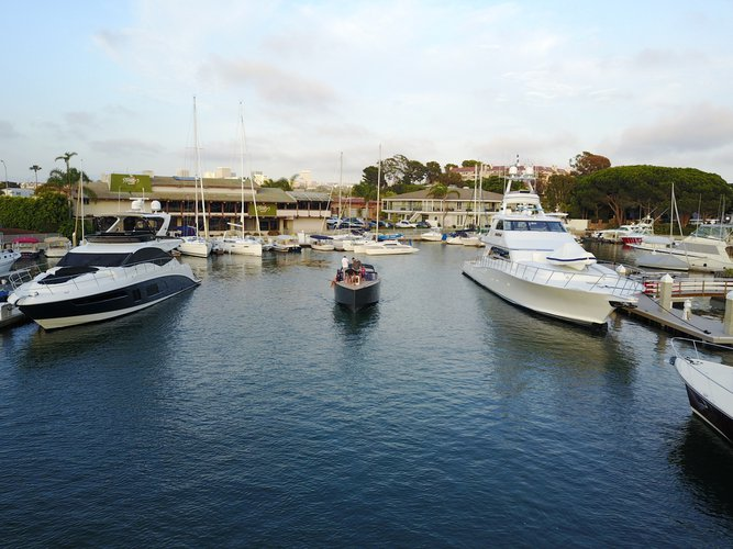 Boating is fun with a Motor yacht in Newport Beach