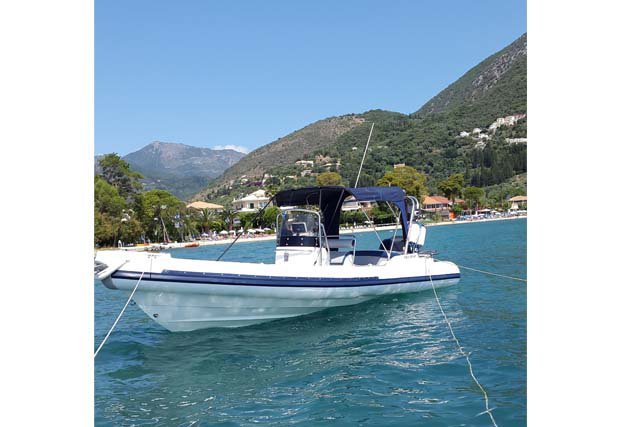 WINNER 7.30M - 1X250HP SUZUKI BASED IN LEFKADA NIDRI