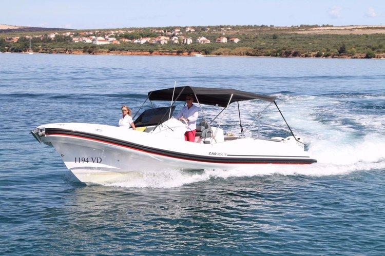 Boat for rent ZAR FORMENTI SRL 27.0 feet in Marina Kornati, Biograd, Croatia