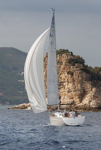Discover Ionian Islands surroundings on this Bavaria Cruiser 33 Bavaria Yachtbau boat