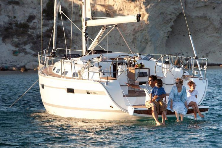 Discover Balearic Islands surroundings on this Bavaria Cruiser 40 Bavaria Yachtbau boat