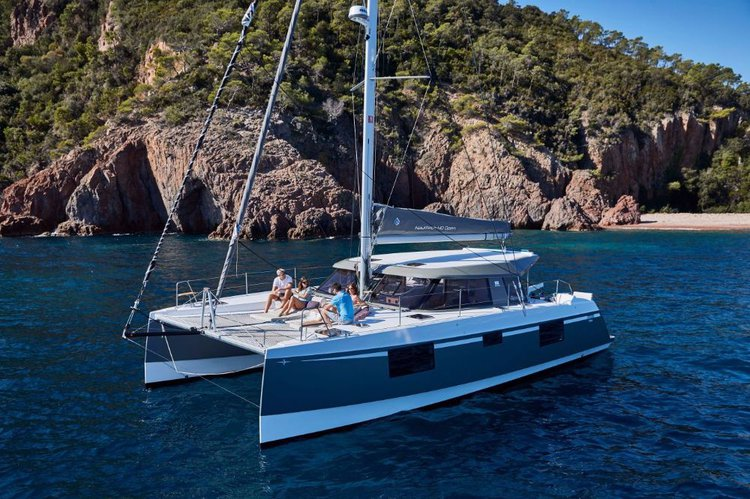 Discover Zadar region surroundings on this Nautitech 40 open NEW Bavaria Yachtbau boat
