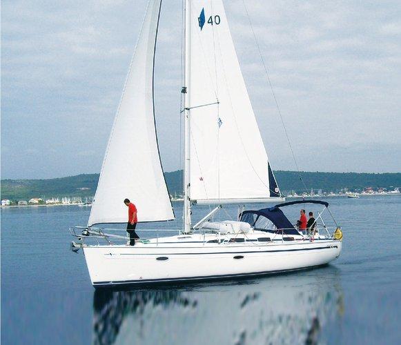 Discover Saronic Gulf surroundings on this Bavaria 40 Cruiser Bavaria Yachtbau boat