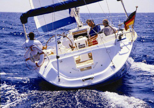 Discover Aegean surroundings on this Bavaria 44 Bavaria Yachtbau boat
