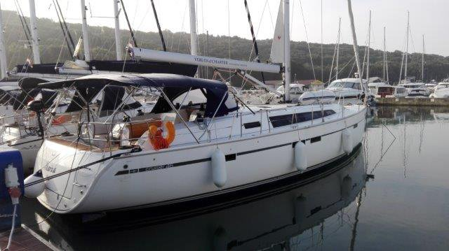 This 46.0' Bavaria Yachtbau cand take up to 9 passengers around Istra