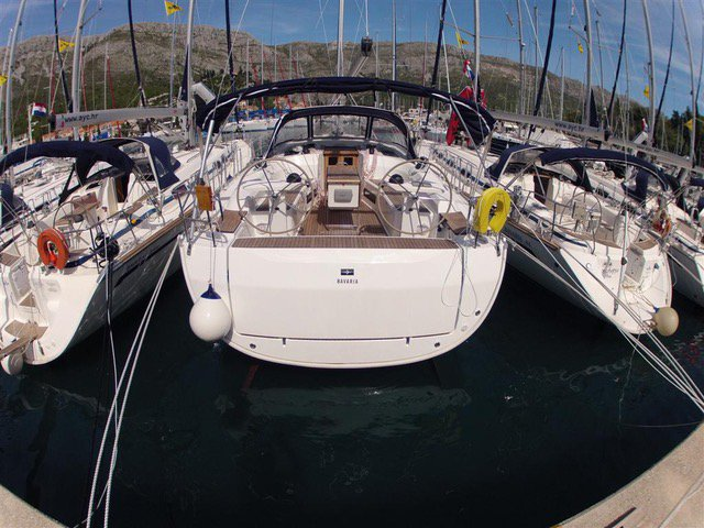 Discover Saronic Gulf surroundings on this Bavaria Cruiser 45 Bavaria Yachtbau boat