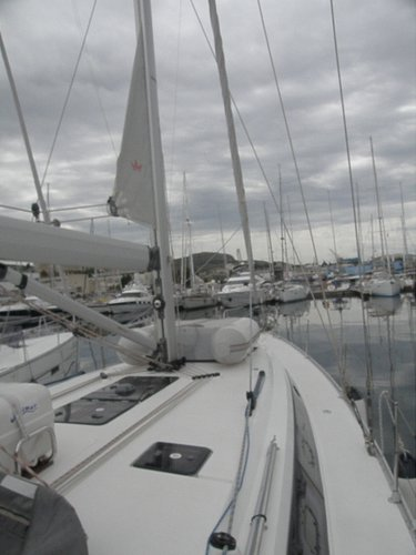 This 46.0' Bavaria Yachtbau cand take up to 10 passengers around Šibenik region