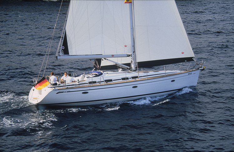 This 47.0' Bavaria Yachtbau cand take up to 9 passengers around Saronic Gulf