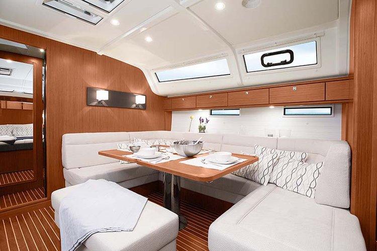 Discover Saronic Gulf surroundings on this Bavaria Cruiser 51 Bavaria Yachtbau boat