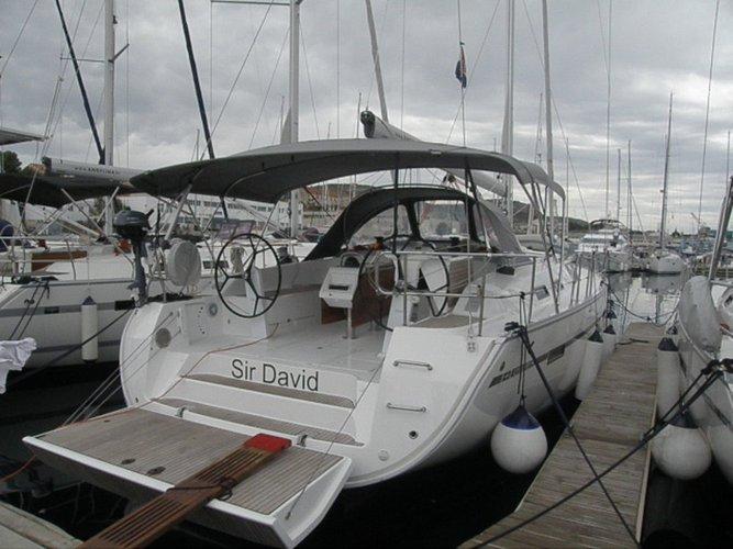 This 49.0' Bavaria Yachtbau cand take up to 12 passengers around Šibenik region