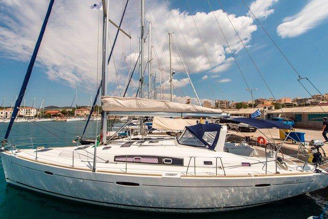 Bénéteau's 49.0 feet in Cyclades
