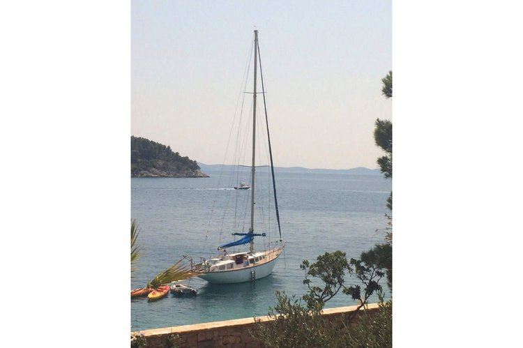 Daily sailing's 46.0 feet in Split