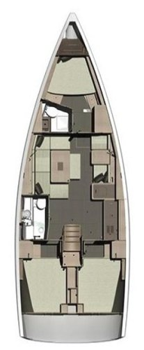This 41.0' Dufour Yachts cand take up to 8 passengers around Saronic Gulf
