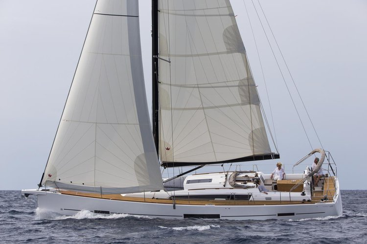 This 49.0' Dufour Yachts cand take up to 12 passengers around Šibenik region