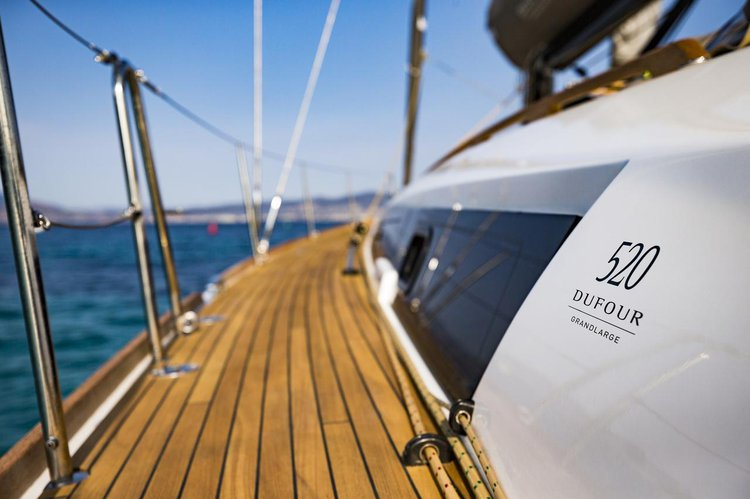 Discover Šibenik region surroundings on this Dufour 520 GL Dufour Yachts boat