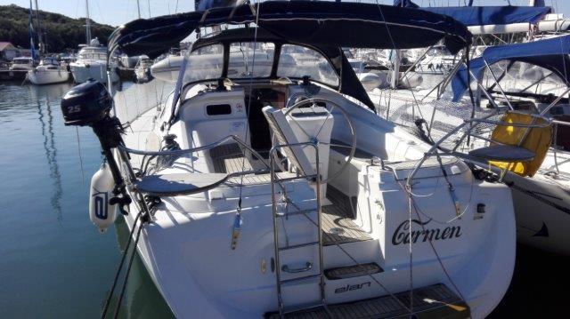 Discover Istra surroundings on this Elan 384 Impression Elan Marine boat