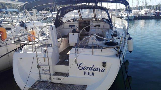 Elan Marine boat for rent in Istra