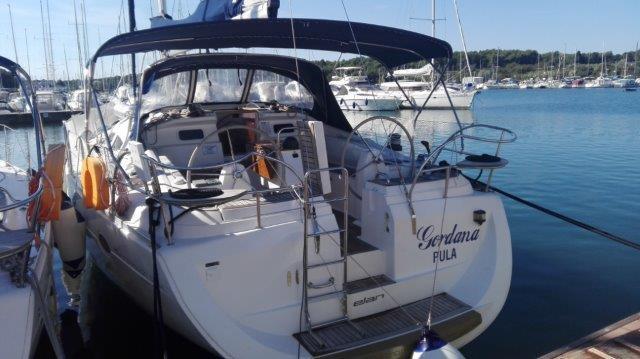 Discover Istra surroundings on this Elan 434 Impression Elan Marine boat