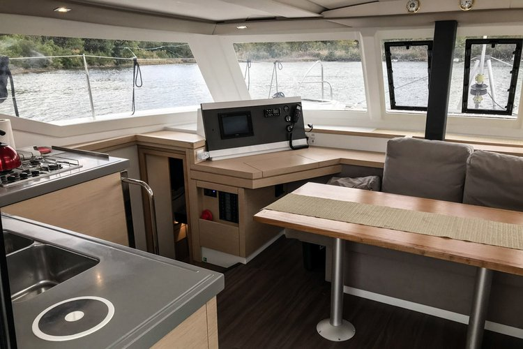 Discover Montenegro surroundings on this Fountaine Pajot Lucia 40 Fountaine Pajot boat