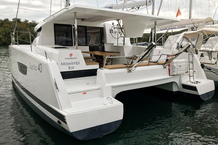Boat for rent Fountaine Pajot 38.0 feet in Muo marina, Montenegro,
