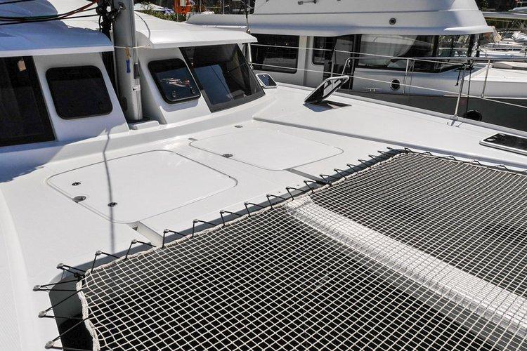 Catamaran boat for rent in Montenegro