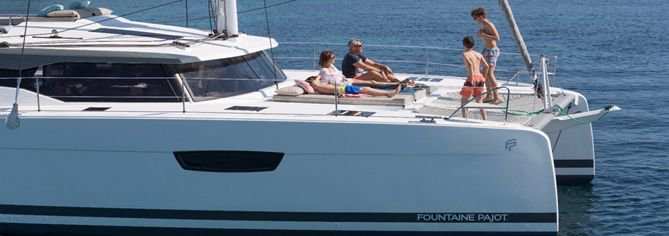 Catamaran boat rental in Marina Trogir - SCT,