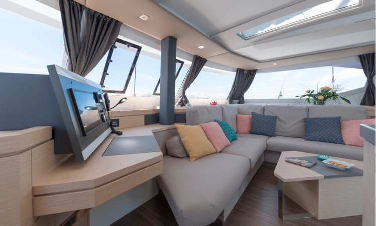 Fountaine Pajot's 47.0 feet in Tenerife