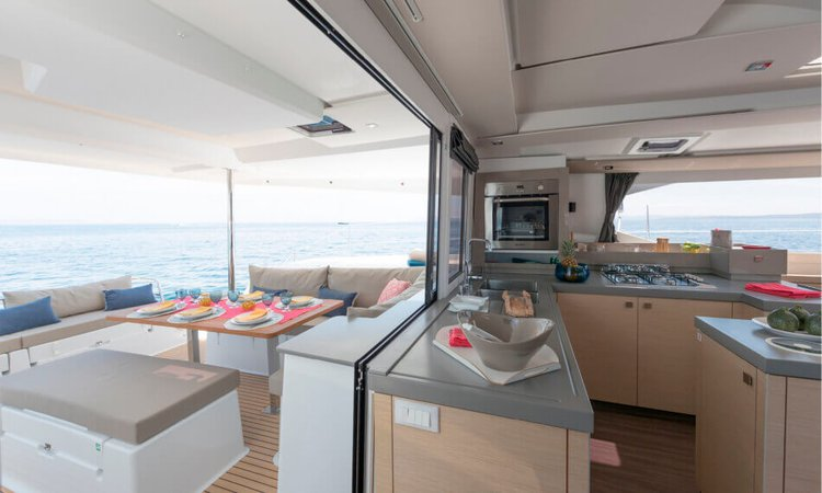 Catamaran boat rental in Tenerife, Spain