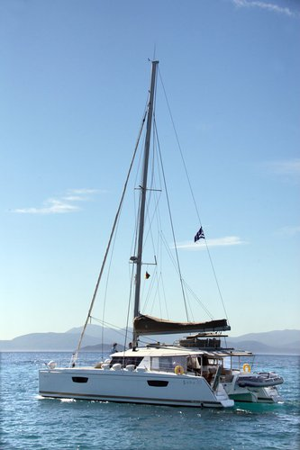 Fountaine Pajot's 49.0 feet in Cyclades