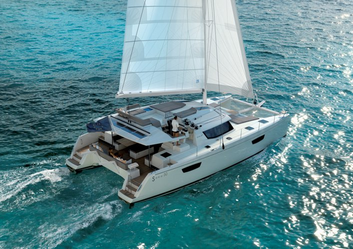 Catamaran boat rental in Marina Trogir - SCT,