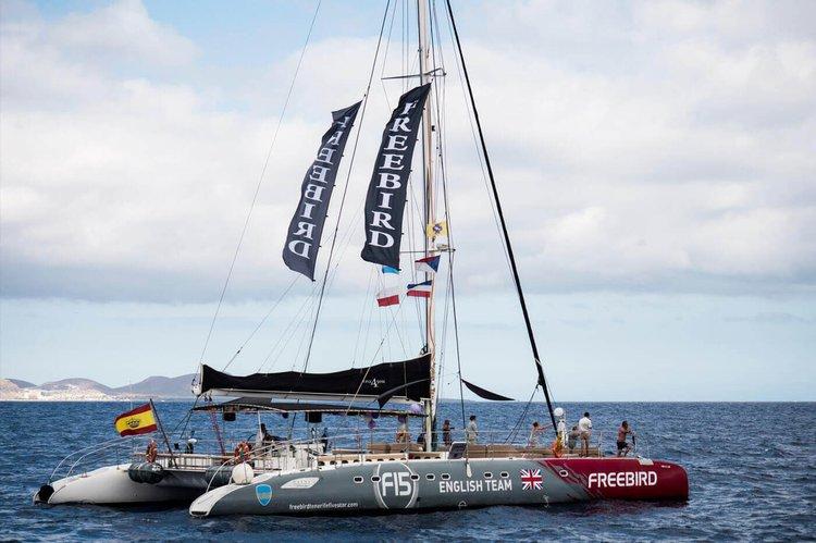 Catamaran boat for rent in Tenerife