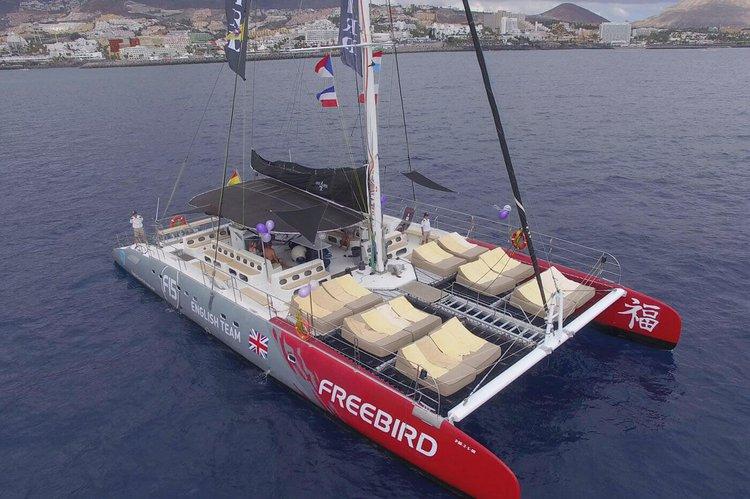 Boating is fun with a Catamaran in Tenerife