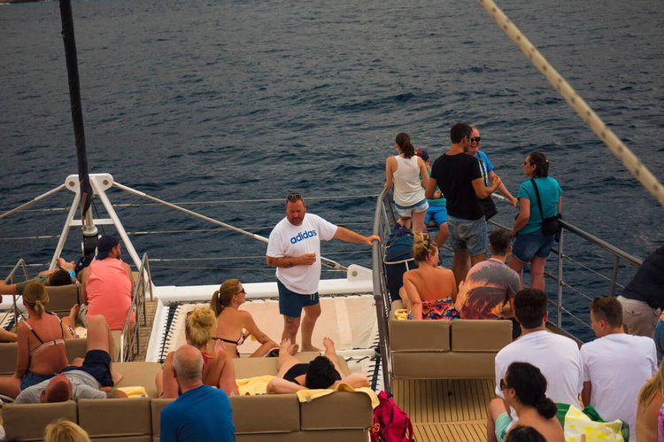 Discover Tenerife surroundings on this Freebird One Freebird boat