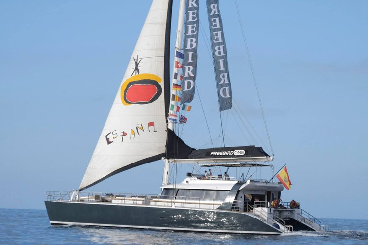 Boating is fun with a Catamaran in Tenerife