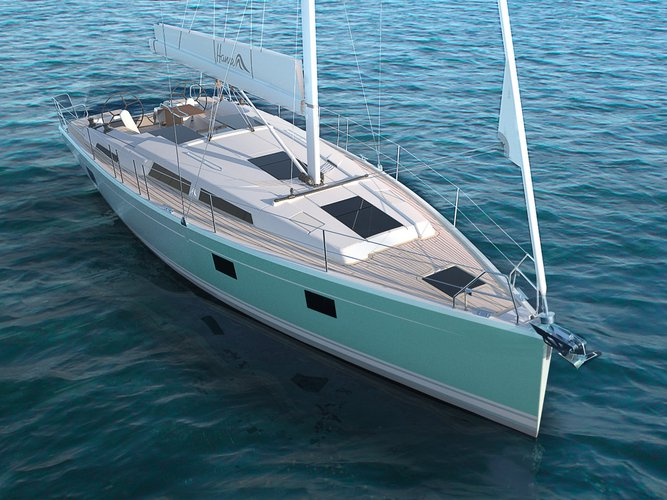 This 40.0' Hanse Yachts cand take up to 8 passengers around Zadar region