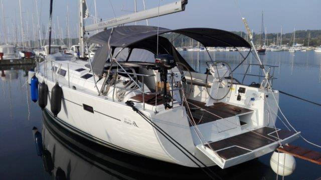 Discover Istra surroundings on this Hanse 505 Hanse Yachts boat