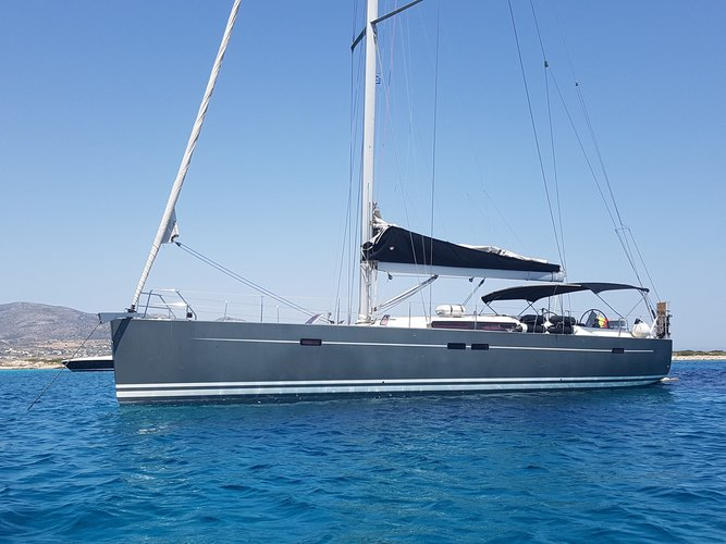 Hanse Yachts boat for rent in Cyclades