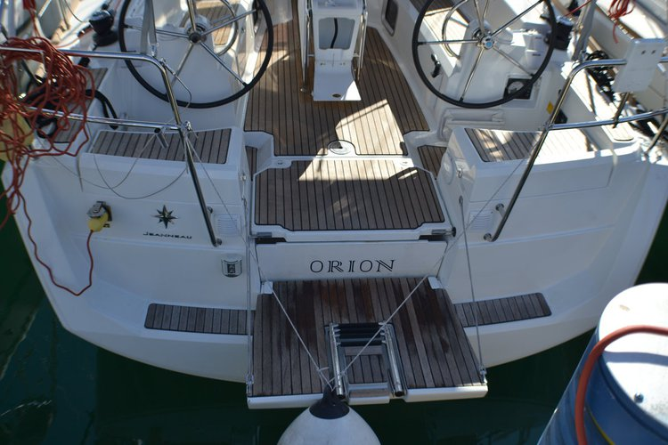 Boat for rent Jeanneau 37.0 feet in Marina Dalmacija, Sukosan, Croatia