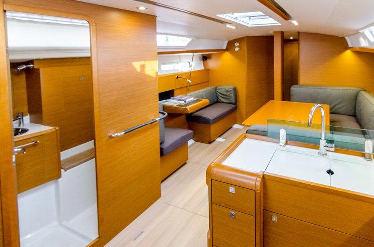 Boat for rent Jeanneau 45.0 feet in Lefkas, Marina Lefkas, Greece