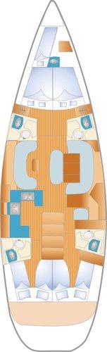 Discover Split region surroundings on this Sun Odyssey 54 DS Jeanneau boat