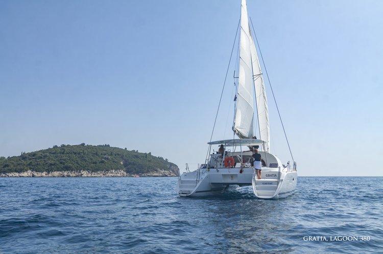 Boat for rent Lagoon-Bénéteau 37.0 feet in ACI Marina Dubrovnik (Komolac) , Croatia